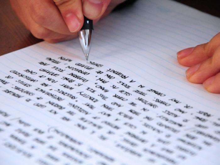 writting essay